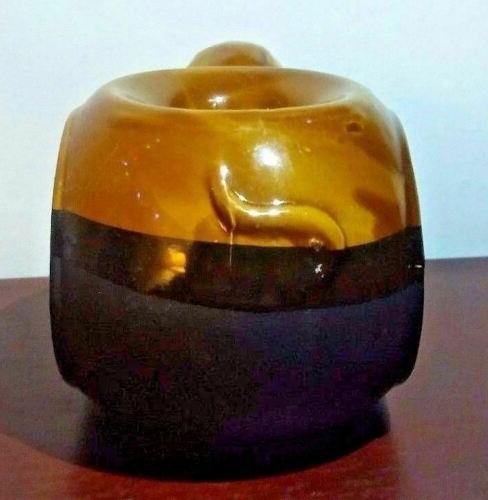 Ceramic and Brown Melt Warmer/Burner/Diffuser