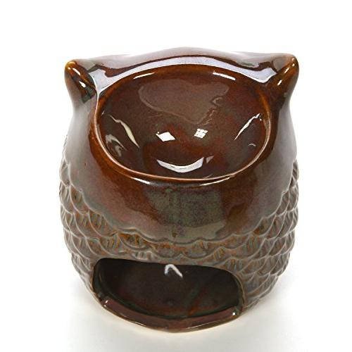 Hosley Owl Warmer. Ideal for and aromatherapy. Use fragrance oils.