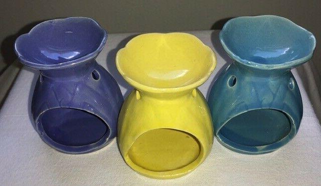 Ceramic Wax Melt Oil Fragrance Tealight Candle Holder