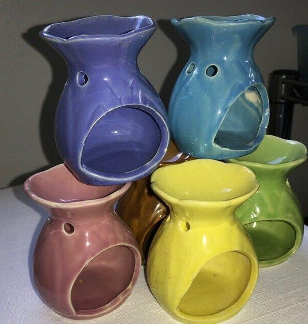 Ceramic Melt Oil Burner Fragrance Tealight Candle Aromatherapy