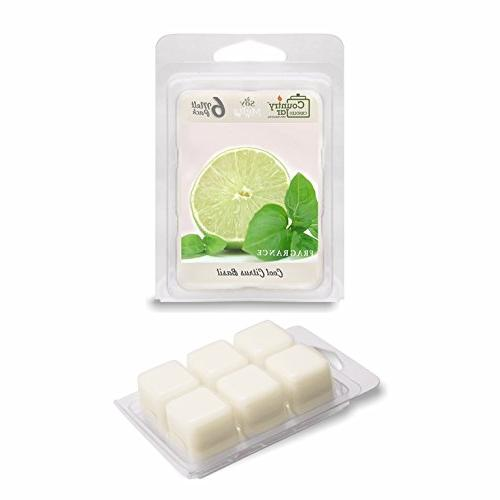 cool citrus basil wax melts