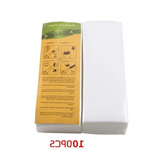 disposable depilatory paper non woven