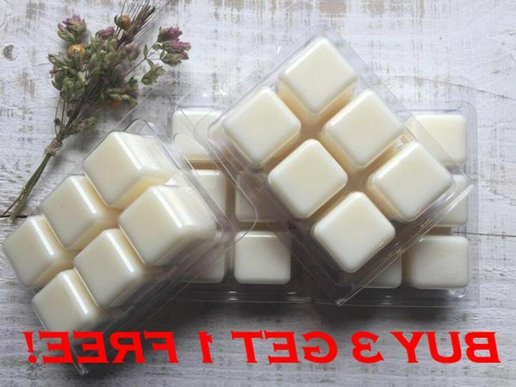 double scented soy wax melts tarts wickless