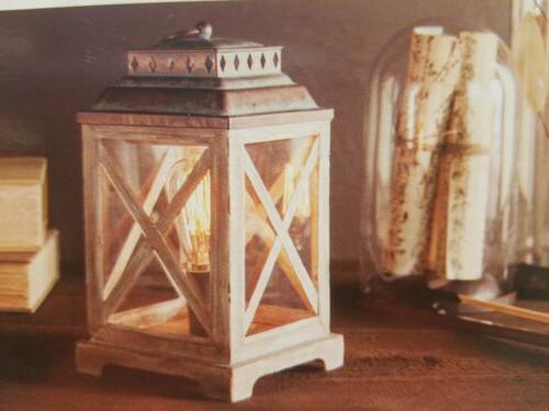 edison anchorage lantern wax warmer