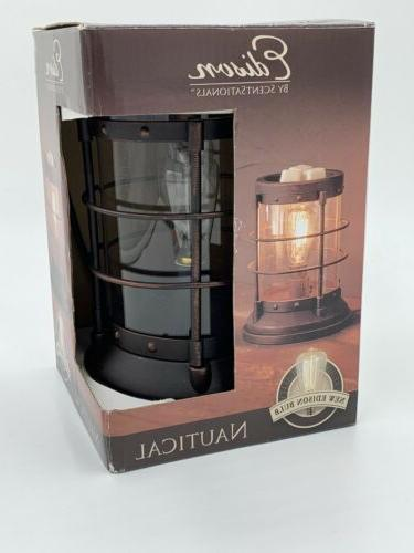 edison nautical lantern wax warmer no flame