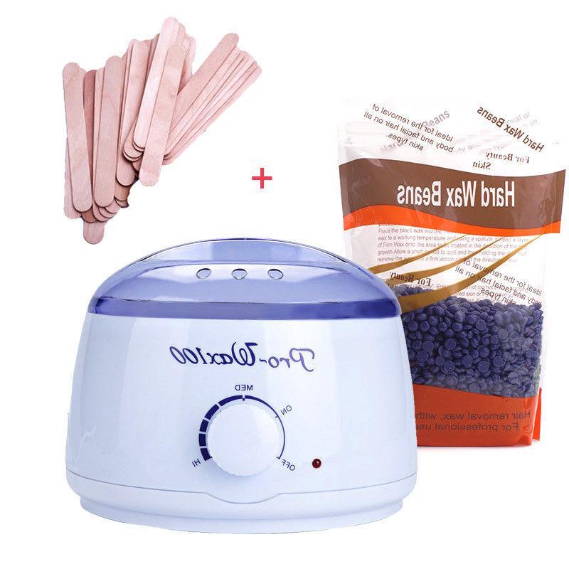 electric depilatory wax melt paraffin warmer wax