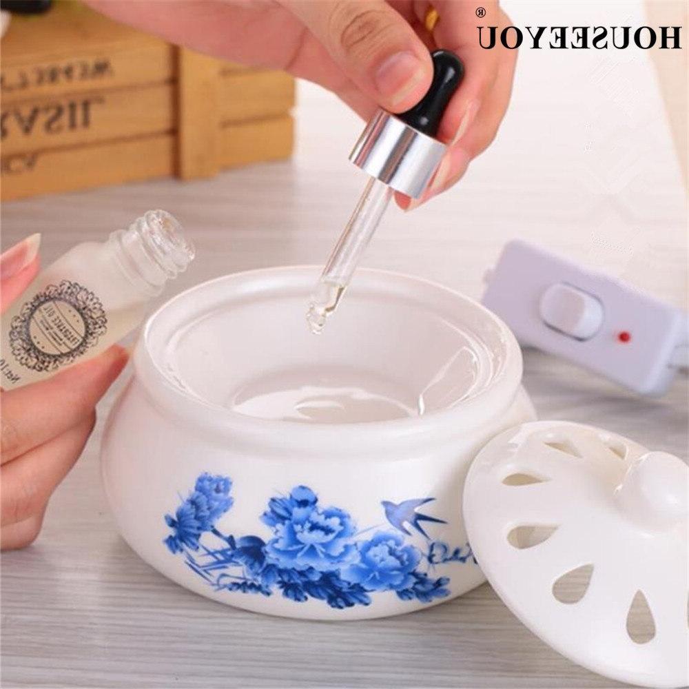Electric Heater Ceramic Fragrance Candle Warmer Essential <font><b>Burner</b></font> melter <font><b>melt</b></font>