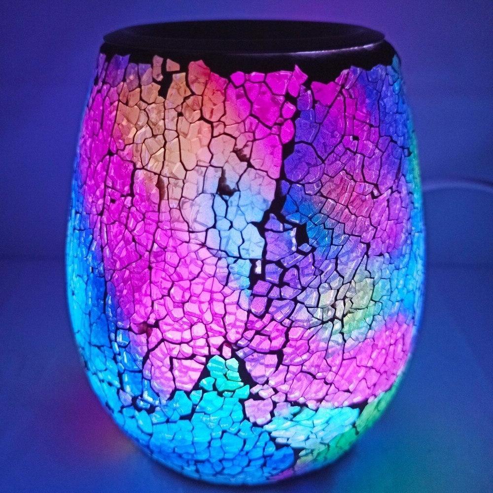 Candle LED Changing <font><b>Melts</b></font> Scented <font><b>Wax</b></font> Tart <font><b>Cubes</b></font>