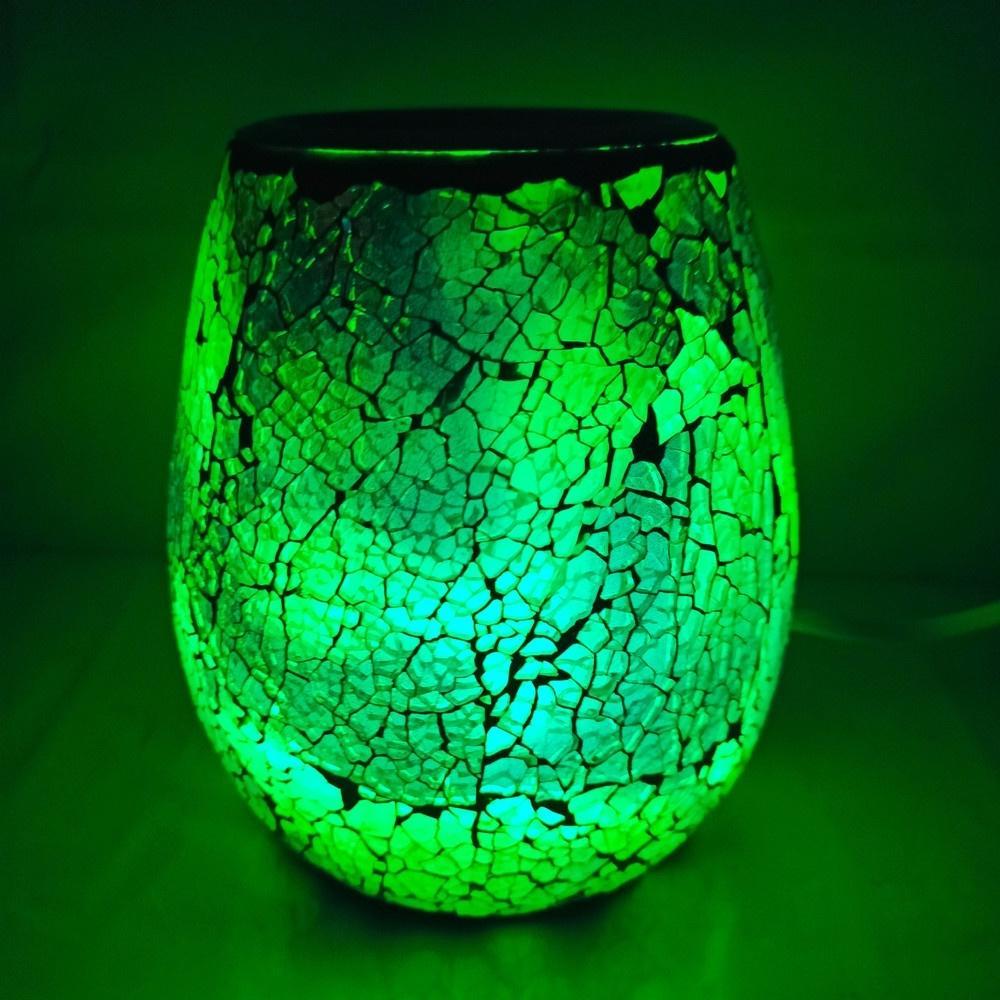 Essential Diffuser Electric Candle Warmer 7 LED Scented <font><b>Wax</b></font> <font><b>Cubes</b></font> Burner