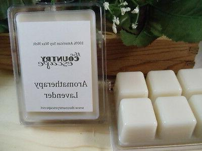 essential oil soy wax candle melts made