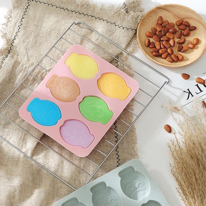 Fish Shape Molds for Chocolate Jelly Cake Soap <font><b>Melt</b></font> Ice Tray