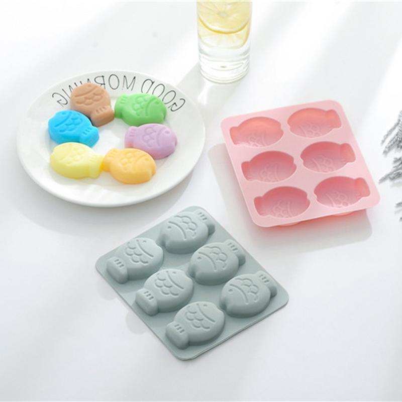 fish shape silicone molds for chocolate candy