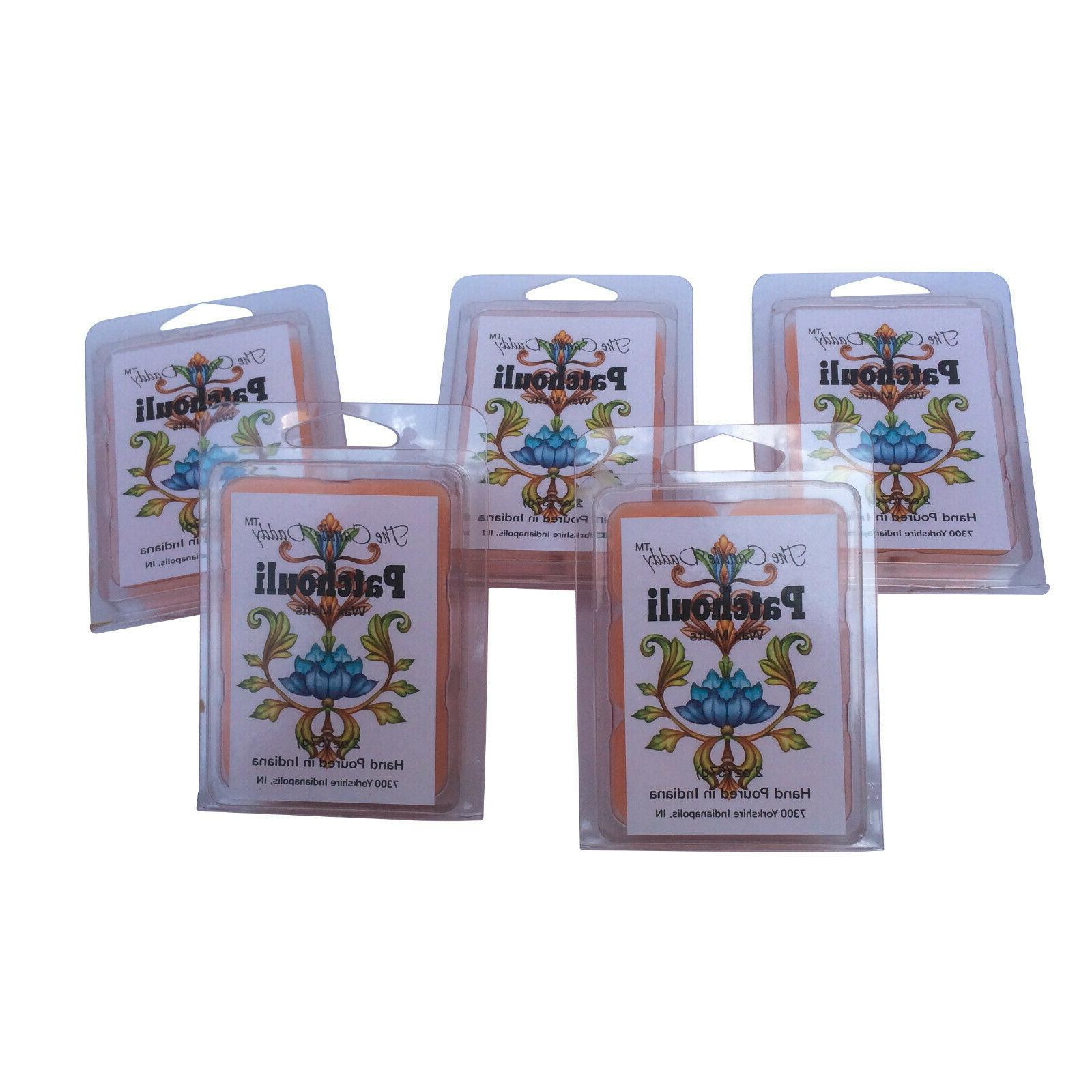 Five 10 oz. Wax Incense for oil/tart