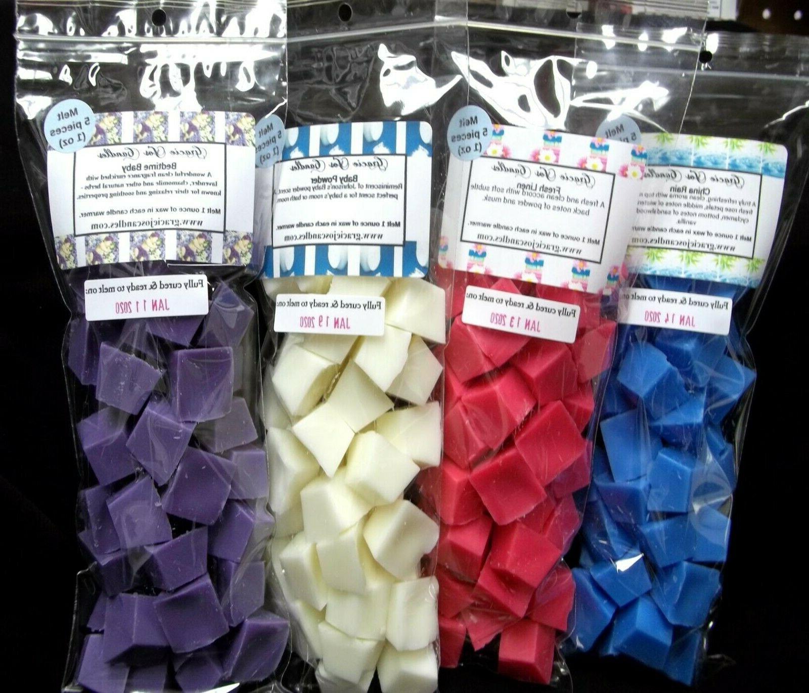 40 Wax Tarts Melts Scents Soy