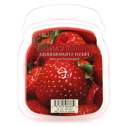 fresh strawberries melts