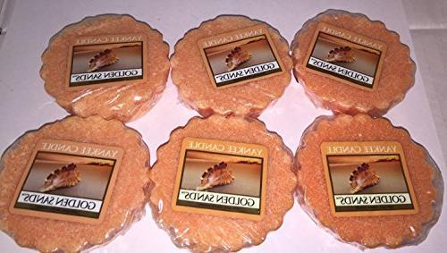 golden sands tarts wax melts