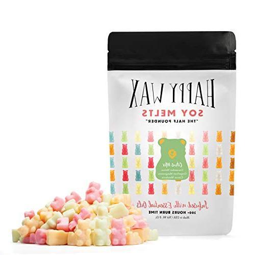 happy wax citrus bear mix soy melts large 8oz