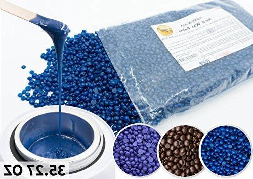 hard bean wax