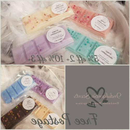 highly scented wax melt snap bar 50g