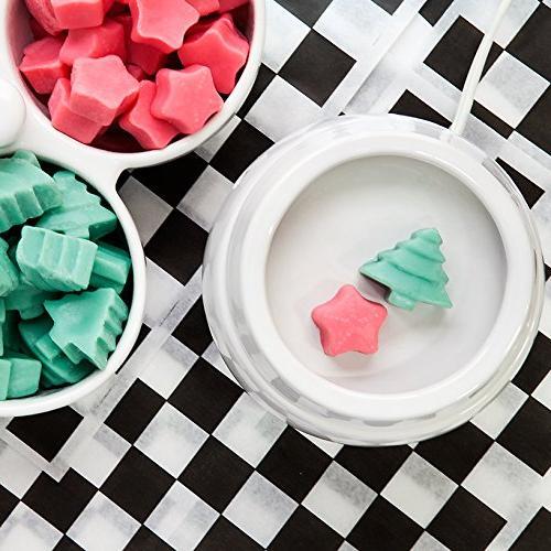 Happy Wax Oz Tin Snowman - All Natural Wax Melts Oils Holiday Shapes Make Perfect Wax Gift!