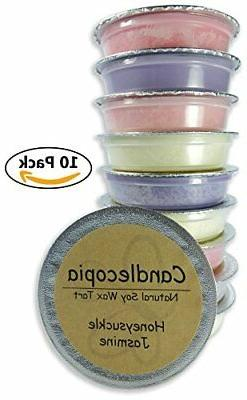 Candlecopia Honeysuckle Jasmine, White Lilac, Hyacinth, Japa