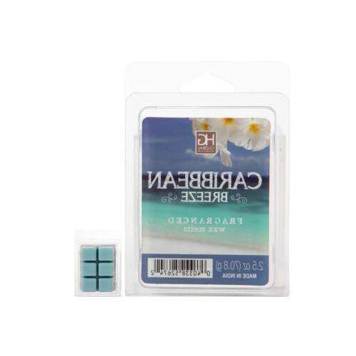 hosley caribbean breeze wax cubes