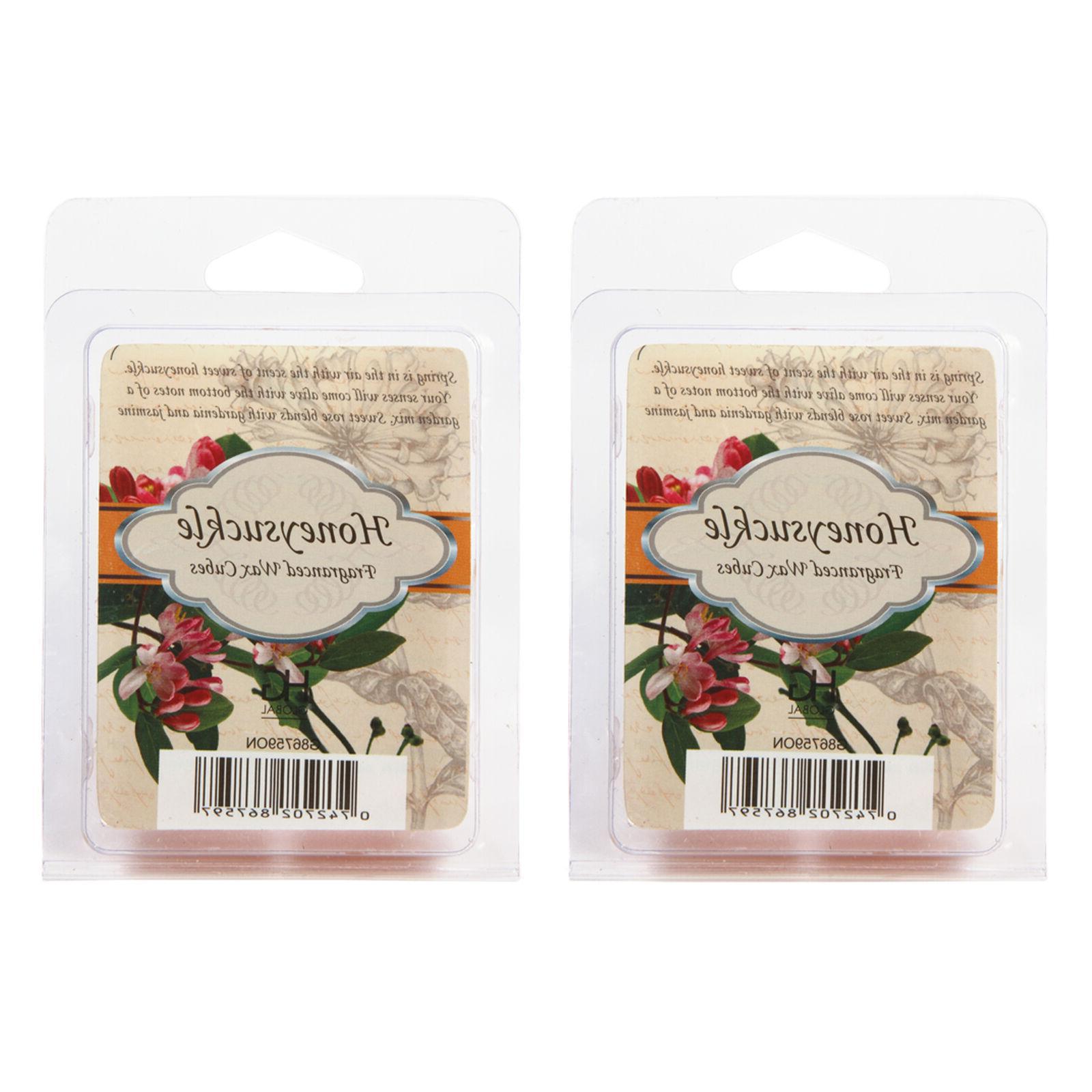 hosley honeysuckle scented wax cubes