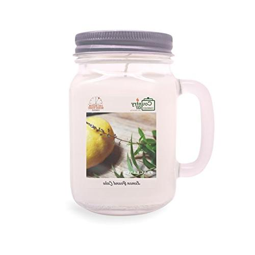 lemon verbena soy candle entire