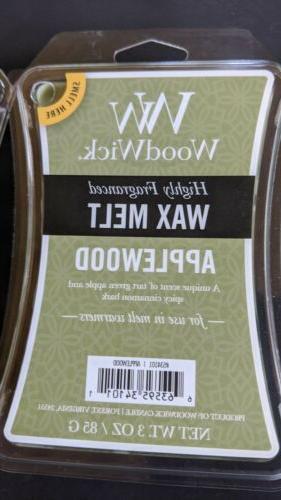 Lot Applewood High Wax Melt Cubes Tarts
