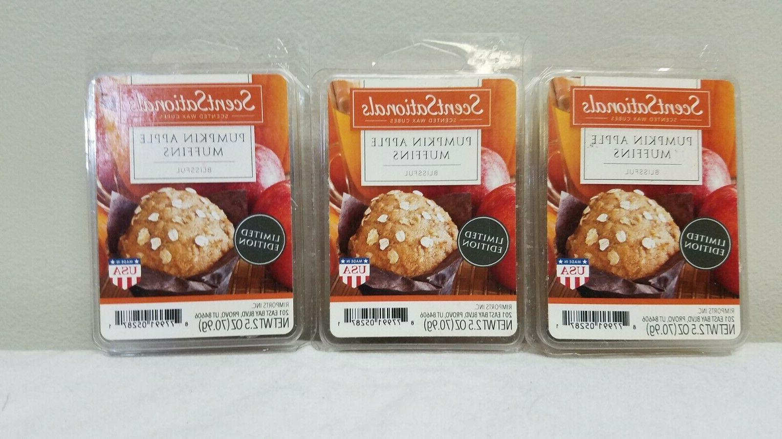 lot of 3 2 5 oz pumpkin