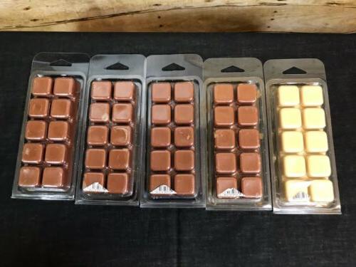 Lot of 5 Color Melts 4 Molasses Gingerbread 1 Vanilla melt
