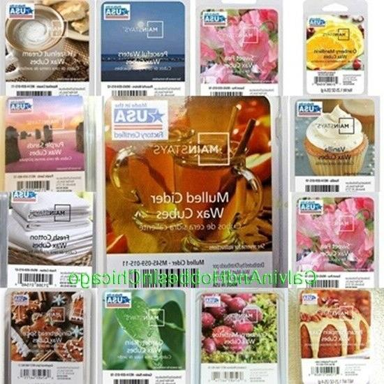Mainstays Wax Cubes Melts Tarts - Your Choice You Pick - New