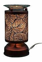 Metal Electric Touch Aroma Lamp Oil Warmer Tart Wax Melts Bu