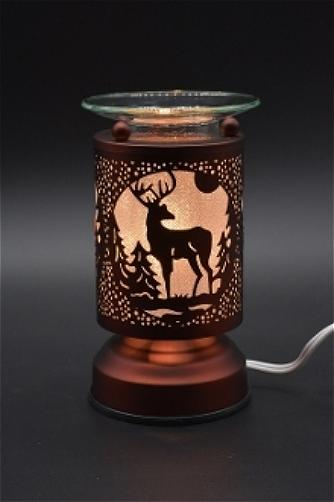 metal electric touch aroma lamp oil warmer
