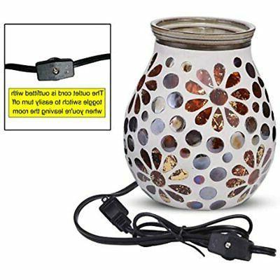 Mocosa Glass Electric Wax Melt Warmer Burner Fragrance