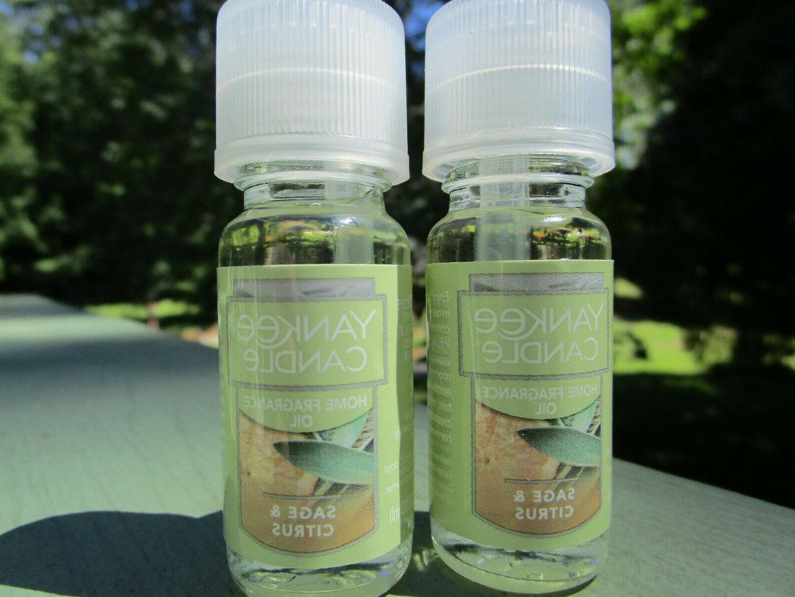 new sage and citrus fragrance oil lot