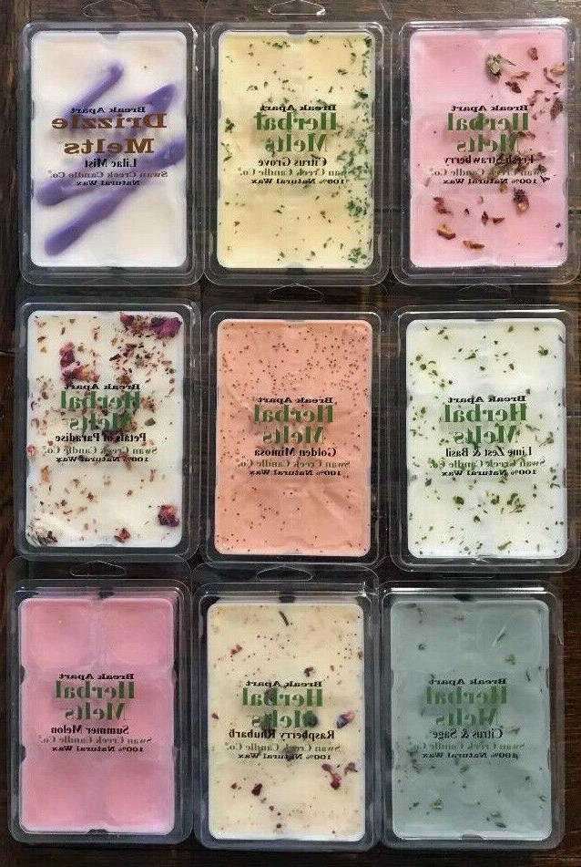 new scents swan creek drizzle melts herbal
