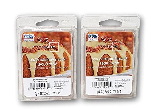 pecan pumpkin cake scented wax