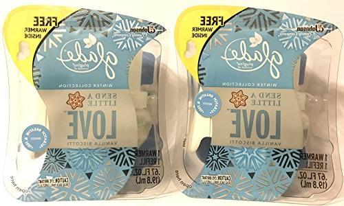 Glade Plugins Scented Oil Refill Lavender & Vanilla 1.34 OZ