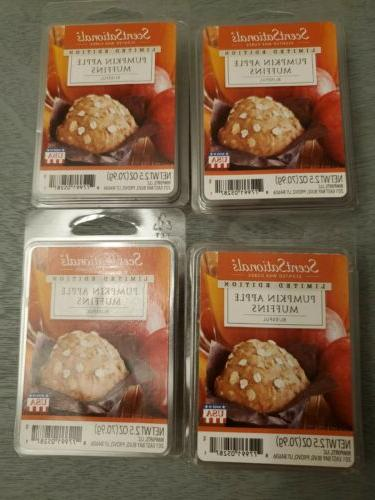 pumpkin apple muffins scented wax