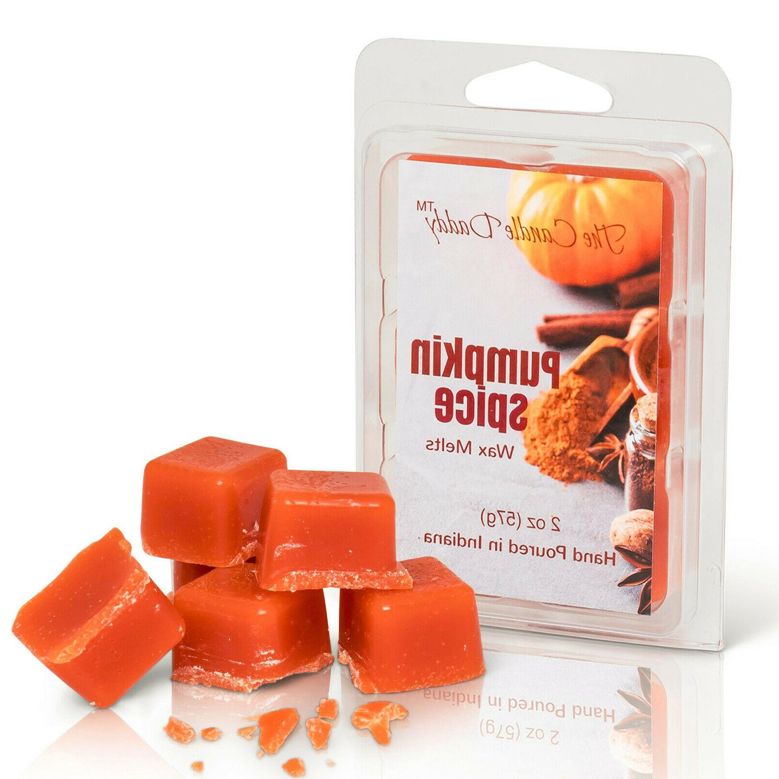 pumpkin spice scent wax melts tarts tart