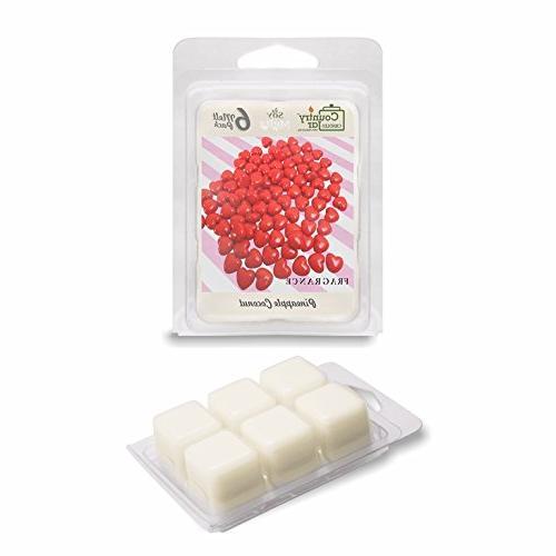 red cinnamon wax melts