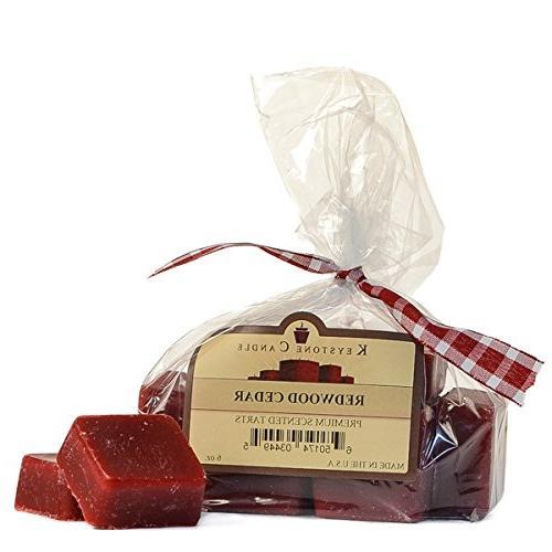 bag redwood cedar scented wax