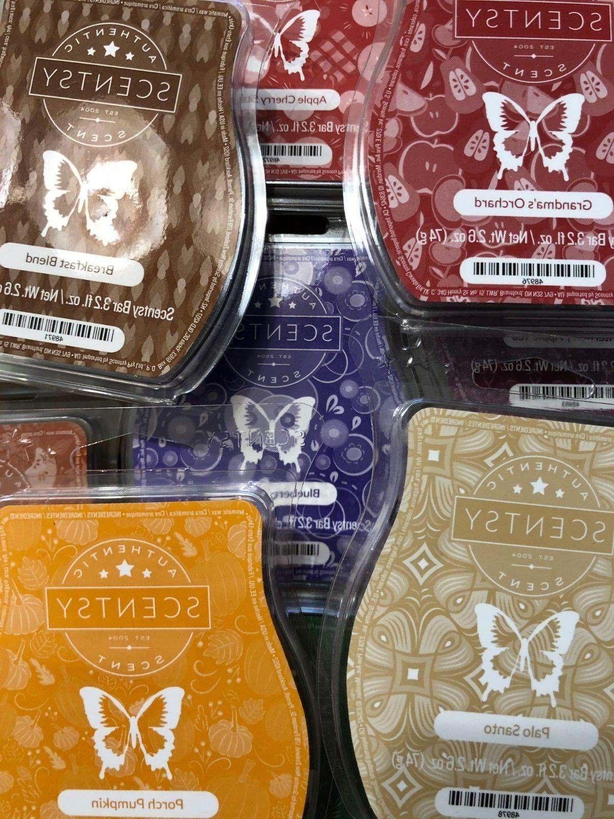 retired and current scents candle wax tarts