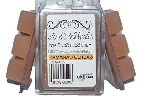 salted caramel soy wax melts
