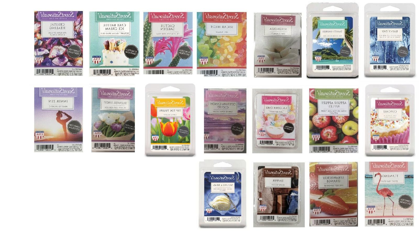 scented wax cubes melts 1 2 packs
