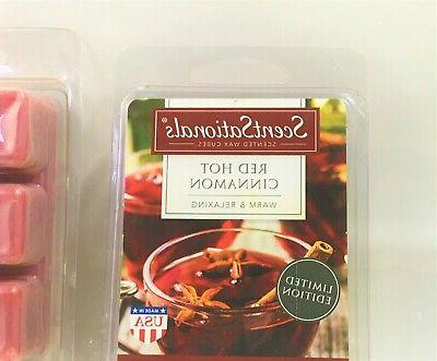 ScentSationals_Scented Melts/Cubes_Red Cinnamon_2 pack
