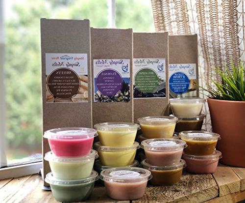 Scented Pack - Natural Cups, 6 , Hours of Per Quarter Cup