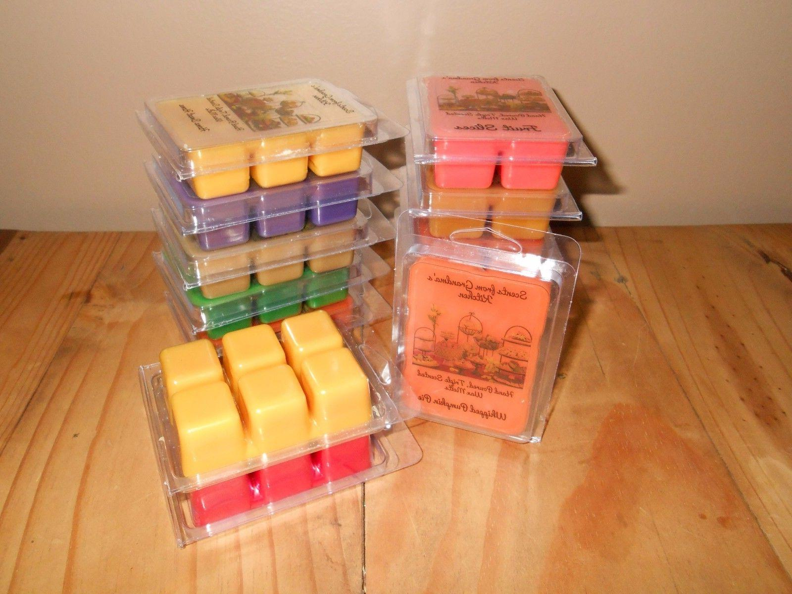 Scents *HEAVILY SCENTED* Melts cube pk