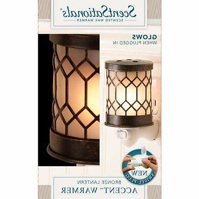 ScentSationals Warmer, Bronze Lantern W